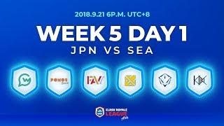 Download Clash Royale League Asia Season2 - Week 5 Day 1 Video