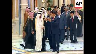 Download WRAP Arrivals for opening ceremomy of OPEC summit, Chavez Video