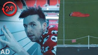 Download 24 HOURS IN A FOOTBALL STADIUM Video