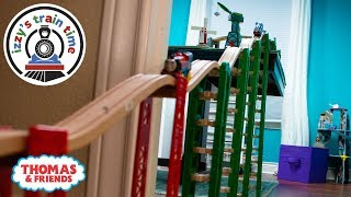 Download Thomas and Friends | Thomas Train and Brio MASSIVE Table to Floor Track! Fun Toy Trains for Kids Video