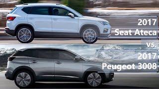 Download 2017 Seat Ateca vs 2017 Peugeot 3008 (technical comparison) Video