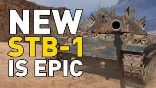 Download World of Tanks || STB-1 is now EPIC! Video