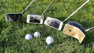 Download Can You Golf With an iPhone? Using iPhones as Golf Clubs Video