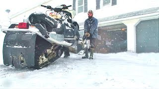 Download RECOVERING MY BURNT SNOWMOBILE (AFTER CATCHING ON FIRE) Video
