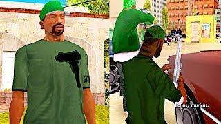 Download Esto Ocurre si Vestimos a CJ como Sweet en la mision ″The Green Sabre″ GTA SA Video