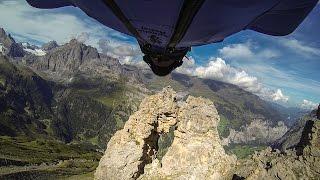 Download GoPro: Wingsuit Flight Through 2 Meter Cave - Uli Emanuele Video