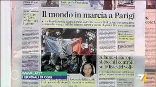Download Omnibus - Rassegna stampa (Puntata 11/01/2015) Video