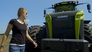 Download Kathrin mit dem Claas Xerion auf der Amazone Performance Tour USA 2017 Trailer Video