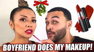 Download BOYFRIEND DOES MY HOLIDAY MAKEUP CHALLENGE ft. Don Benjamin   Liane V Video
