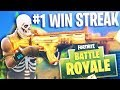 Download NEW #1 BEST DUO WIN STREAK!! *WORLD RECORD* (Fortnite Battle Royale Highlights) Video