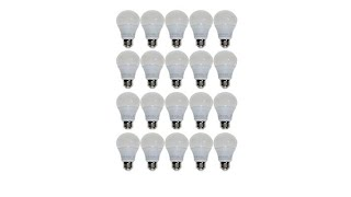 Download StoreSmith 20pack A19 Dimmable LED Bulbs Video