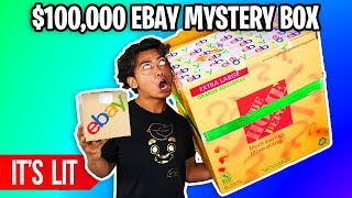 Download $25 VS $100,000 EBAY MYSTERY BOX! (Insane) Video