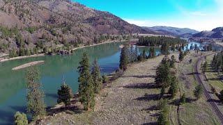 Download Breathtaking Flathead River - near Paradise, Montana MT Video