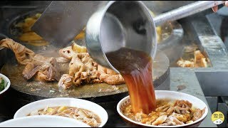 Download 北京30年卤煮火烧,一碗肥肠、五花肉40元!浇一勺卤汤,当下酒菜 Video