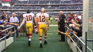 Download Redskins Take the Field Vs. Cowboys: 11/22/12 Video