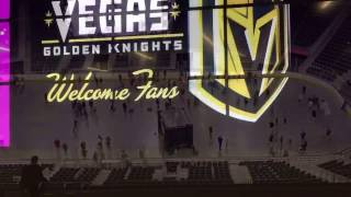 Download Complete Tour Of LV Golden Knights NHL Arena Video