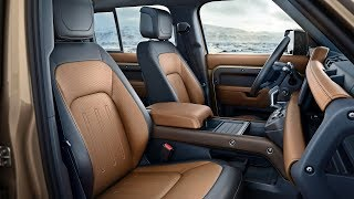 Download 2020 Land Rover Defender - INTERIOR and Features Video