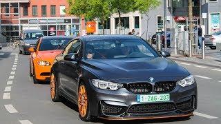 Download Supercars Arriving Cars & Coffee Kortrijk 2017 | 2x Liberty walk, F12, Lotus eleven, ... Video