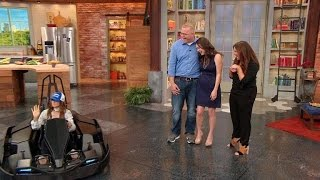 Download Army Vet Gets a Huge Surprise When NASCAR's Danica Patrick Drives Into Our Studio! Video