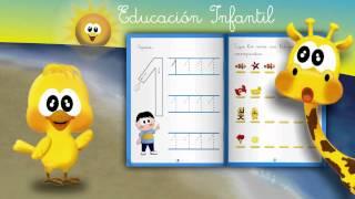 Download Cuaderno Educación Infantil 3 y 4 años: Grafomotricidad Números. Video