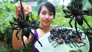 Download Yummy cooking spiders recipe - Cooking skill Video