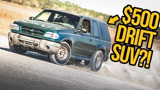 Download We Turned A Broken $500 Ford Explorer Into An AMAZING Drift Car (In 5 Days) Video