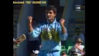 Download Sourav Ganguly bowling, best 20 wickets- amazing DADA celebrations! Video