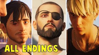 Download Life is strange 2 Episode 5 ALL ENDINGS (LIS2 Wolves) Video