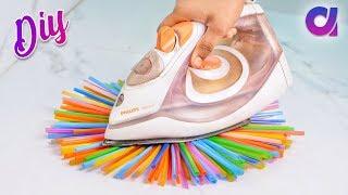 Download 10 genius Drinking Straw Craft ideas to make in 5 minutes | Artkala Video