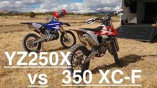 Download 2017 YZ250X vs KTM 350 XC F - Episode 192 Video