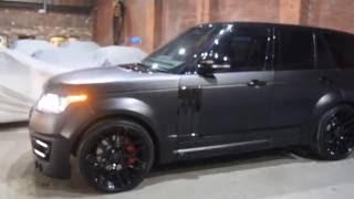 Download 2014 64 Reg Land Rover Range Rover 4.4 SDV8 Vogue Auto 17,000 Miles in Black with Lumma CLR R Black Video