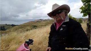 Download Rowell Rodeo Fake Cowboy Upset with SHARK Drone Video