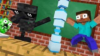 Download Monster School : BOTTLE FLIP CHALLENGE - Funny Minecraft Animation Video