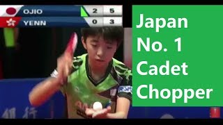 Download [TT Junior] Hongkong Cadet Final, Ojio Haruna (小塩遥菜 ) Chopper No.1 Video
