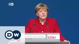 Download Kämpferische Kanzlerin in Essen | DW Nachrichten Video