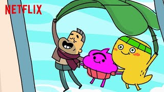 Download Cupcake and Dino | Cupcake and Dino's EPIC MOMENTS! 3 ⚡️30 MINUTES | Funny Cartoons | Netflix Video