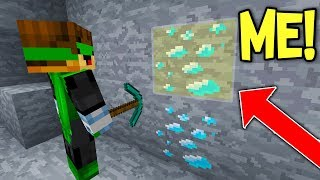 Download DISGUISING AS A DIAMOND TO TROLL XRAY HACKER ON MINECRAFT... Video
