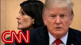 Download Trump says he has five people on shortlist to replace Nikki Haley Video