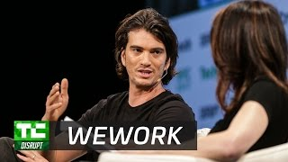Download Optimizing space itself with WeWork's Adam Neumann   Disrupt NY 2017 Video