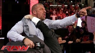 Download Triple H agrees to face Daniel Bryan at WrestleMania 30: Raw, March 10, 2014 Video