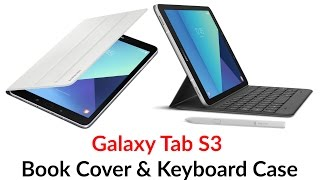 Download Galaxy Tab S3 Book Cover & Keyboard Case Video