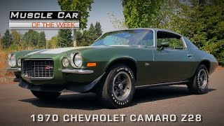 Download Muscle Car of the Week Video #119: 1970 Chevrolet Camaro Z28 Video