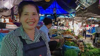 Download Laos || Nongchan Market || Vientiane City Video