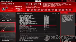 Download MSI Z97 Gaming 7 - Bios UEFI - HispaZone Video