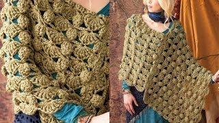 Download #40 Bulky Poncho, Vogue Knitting Crochet 2012 Video