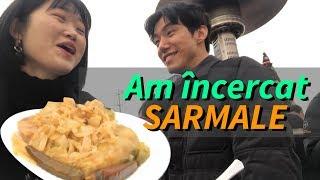 Download Am încercat SARMALE - ! - Coreeanii mănâncă mâncarea românească Video