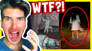 Download REACTING TO PARANORMAL VIDEOS! Video