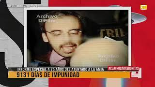 Download 25 años del atentado a la AMIA: informe especial de Cuatro Caras Bonitas Video