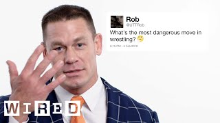 Download John Cena Answers Wrestling Questions From Twitter | Tech Support | WIRED Video