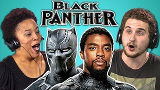 Download ADULTS REACT TO BLACK PANTHER TRAILER Video